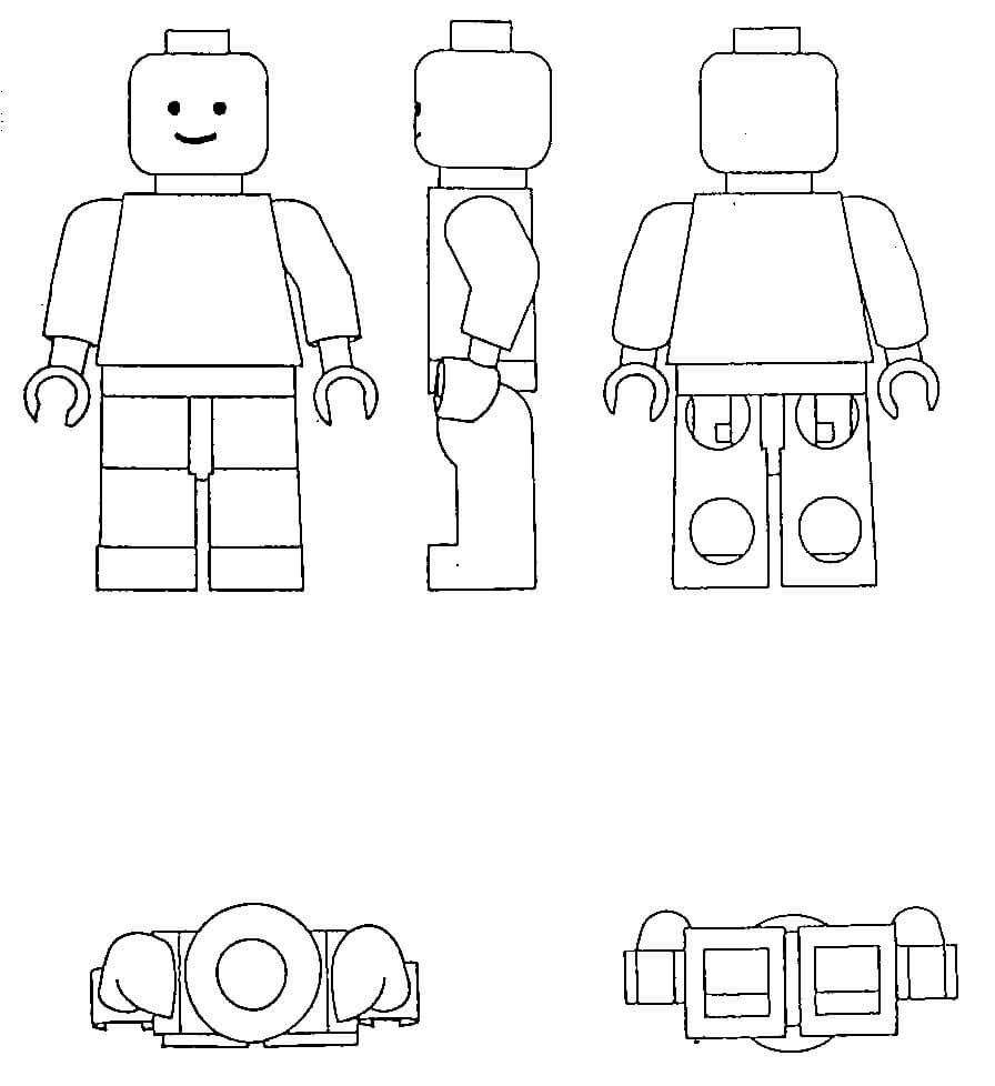 Ludzik lego - znak towarowy