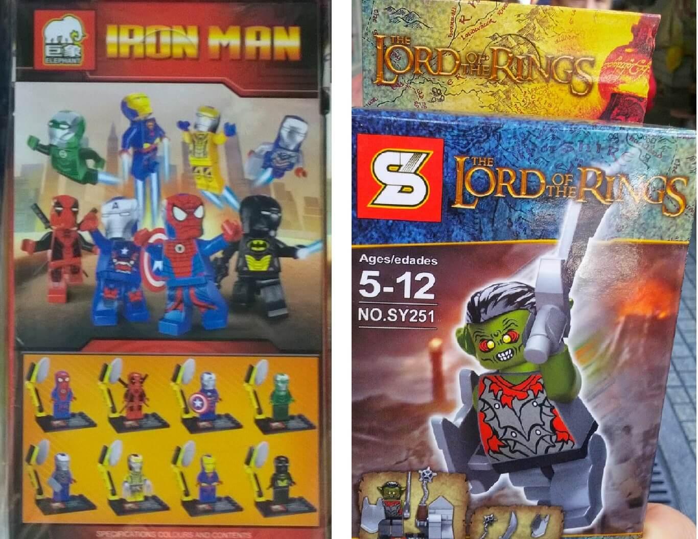 Podobieństwo znaków towarowych LEGO9