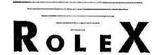 Renomowane znaki towarowe - ROLEX1