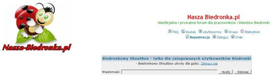 Spory domenowe. Sprawa nasza-biedronka.pl