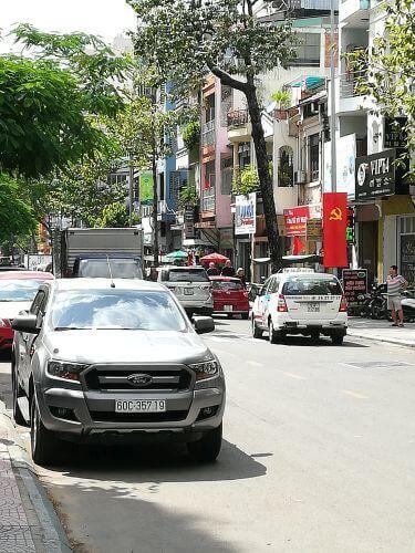 Wietnam - flaga zsierpem imłotem.